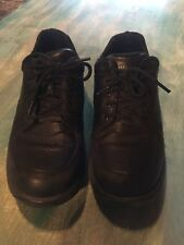 Dunham by New Balance Men 11.5 B Windsor Black Casual Oxfords Lace Ups