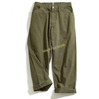Work WAPPINGER'S TROUSERS Men's Vintage Paris Buckle Army Casual Wide Leg Pants