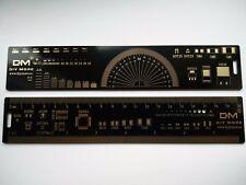 Multifunctional PCB Ruler Measuring Tool 20cm - Uk Seller