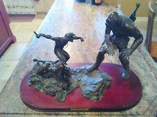 Frazetta  Endangered Species Bronze Statue L.Ron Hubbard Battlefield Earth 25/50
