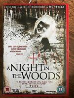 SCOOT McNairy UNA NOCHE EN EL BOSQUE ~ 2012 Británico Horror Película RU DVD