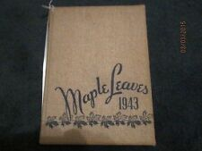 1943 Maplewood - Richmond Heights (MO) Maple Leaves High School Yearbook - Nice!