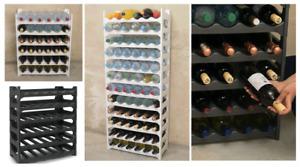 Flaschenregal modular stapelbar - Weinregal für 36/72 Flaschen Regal-System