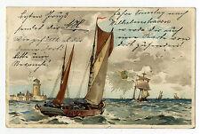 Ak Sonnenschein Postkarte Winkler & Schorn Nürnberg Litho gel 1899