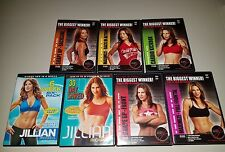 Jillian Michaels The Complete Body Workout DVD 7 Disc Set 30 Day Shred, Abs