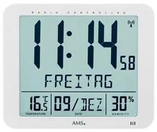 AMS 5886 - Wanduhr - Wetterstationen - Uhren Neu