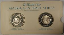 America in Space Series: Explorer I & Friendship 7 Sterling Silver Proof Medals