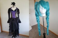 Miku Hatsune Cosplay Costume with Wig Sandplay Singing Of The Dragon Halloween