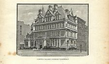 Stampa antica NEW YORK Palazzo Cornelius Vanderbilt 1893 Antique Print