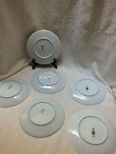 Lot of 6 Harvest/ Orchard/ Fruit Salad Plates 2x Jaeger & Co 4x Debra Bavaria