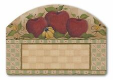 """FALL COUNTRY APPLES Magnetic Yard Art 14"""" x 10"""" with Black Numbers Made in USA"""