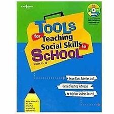 Tools for Teaching Social Skills in Schools: Lesson Plans, Activities, and Blend