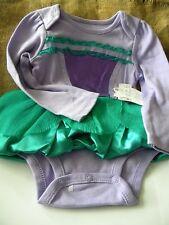 Disney Princess costume dress bodysuit Ariel Little Mermaid NEW TAGS SZ 2 YRS