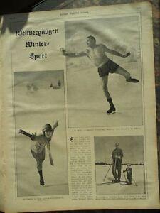 1926 Eislauf in Shorts Schweiz Müller Müllern