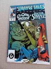 Strange Tales 6 . (vol 2) 6 . Cloak & Dagger / Dr Strange . 1987 . VF