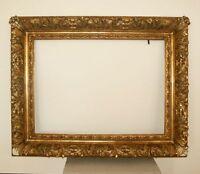 130 x 103 cm Gemälde Bilderrahmen Antique Frame Barock Klassizimus Foto Gold