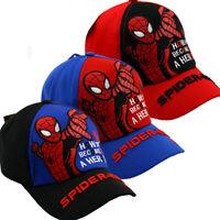 Spiderman Kinder Snapback Kappe Schirmmütze Basecap Jungen Mädchen Baseball Cap