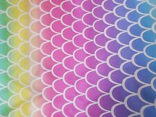 Beautiful rainbow, Cotton Fabric Scraps, Crafts, Quilting, Sewing Projects