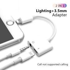 Lightning to 3.5mm Splitter Adapter Headphone Jack For iPhone 11 6 7 8 Plus X XS