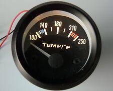 "2"" Water Temperature Gauge (100 - 250 F) 12 volt"