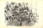 "1943 RAOUL DUFY Lithograph ""A Symphony"" ""Hommage Portfolio No. 177"" of 1000"