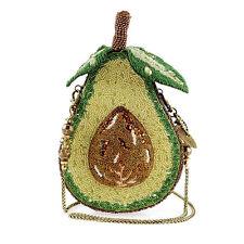 Mary Frances Ripe Avocado Embellished Purse Summer 17 Beaded Bag Handbag NEW