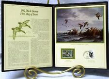 1982 Duck Stamp First Day of Issue Folio Postal Commemorative Society
