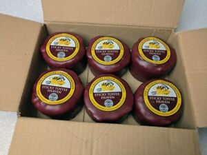 6 x Sticky Toffee Heaven Cheddar Cheese 200g Wax Truckles Multi Buy