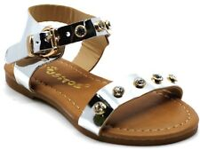New Baby Toddler Girls And Youth Kids Sandals Buckle Strap Diamond Embedded