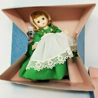Vintage Madame Alexander Ireland #578 8'' Doll with Box and Stand
