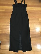 Network Dress size 10 black made in australia casual formal Parties Race