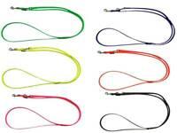 elropet® Hundeleine BioThane® verstellb 2,40m 2,80m 3,50m vers Breiten u. Farben