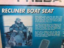 Fox Recliner Boat Seat Angelstuhl Stuhl Bootsitz Klappstuhl Predator