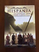 HISPANIA LA LEYENDA TEMPORADA 1 COMPLETA + EXTRAS - 4 DVD - 683 MIN BUEN ESTADO