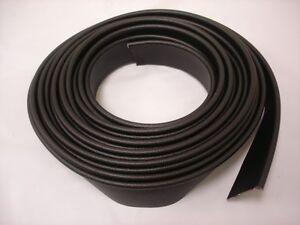 """Street Rod Black Crushed Grain Vinyl Fender Welt Welting Kit 25 feet 3/16"""" Bead"""