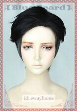 YURI! on ICE Otabek ALTIN Short Black mix grey color Cosplay costume wig