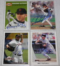 The Smoky Collection | San Francisco Giants In Person Autograph Auto | You Pick