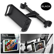 """4""""-11"""" Black Car Back Seat Headrest Phone Tablet Mounting Holder For iPhone iPad"""