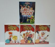 Lot of 4 Best of The Muppet Show 25th Anniversary Edition DVD Shows + Movie