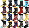 New Mens sock   for Men Winter Cotton Comfort Soft Thick Long Skate Funny Socks
