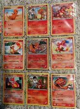Pokemon Card/Tarjeta  4 Charmander, 4 Charmeleon, 1 Charizard(Holo) Card