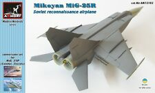 Armory Models 1/72 MIKOYAN MiG-25R Reconnaissance Jet Resin & PE Update Set