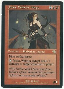 Jeska, Warrior Adept ENGITA Judgment JUD Vintage Magic The Gathering Mtg
