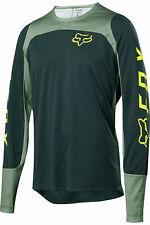Fox Racing Mountain Bike Defend LS Fox Jersey Emerald Size- XL