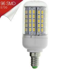 Bombilla E14 (Mignon) LED 96 SMD 5730 Blanco Cálido 220~250V AC - Consumo 18W