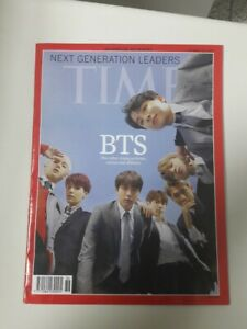 BTS Bangtan Boys Group Cover Time Magazine Next Generation Leaders 12 October 18