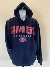 New Montreal Canadiens Mens Size L Large Blue G-III Hoodie