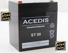 BATTERIE PLOMB ETANCHE AGM 12V 5.4Ah  90X70X100mm ST50 Onduleur, médical, alarme
