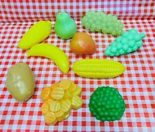 Play Food Fruits Vegetables Lot For Pretend Tikes Kitchen Groceries Fun MCSPF22