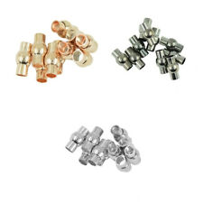 30 Stk. Edelstahl DIY Magnetverschluss Schmuck Halskette Armband Verschlüsse